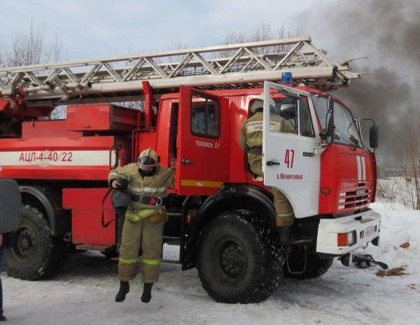 Для защиты пожарных от поражения током следует заземлить пожарную машину