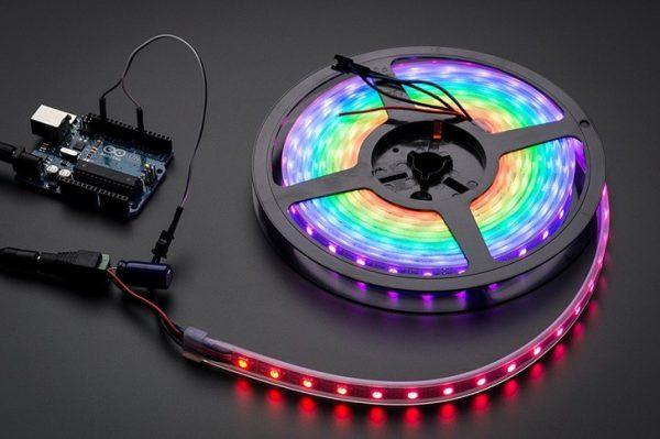 Неоновые RGB ленты