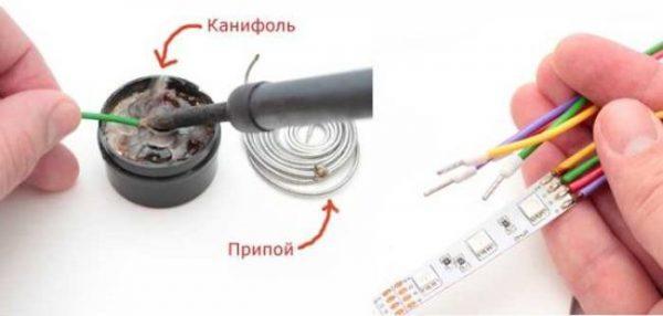 Инструменты для пайки светодиодных лент