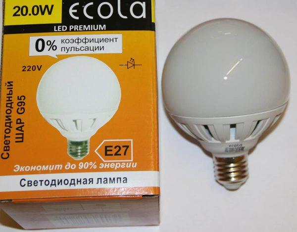 Лампа с коэффициентом пульсации 0 процентов