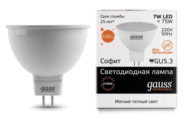 Обозначение параметров светодиодных ламп на упаковке