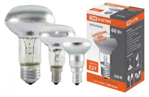 Лампа накаливания на 230В