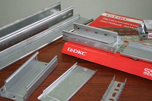 Кабельные лотки производства компании DKС