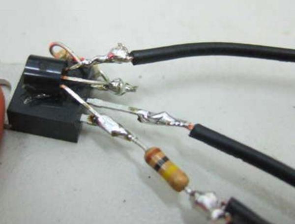 Монтаж драйвера для светодиодов без платы