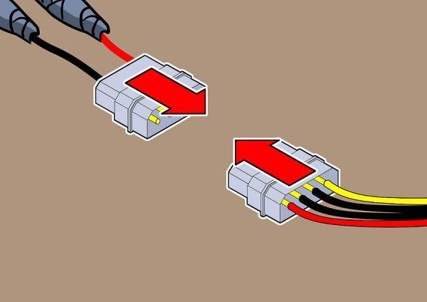 Подключение светодиодной ленты к блоку питания компьютера