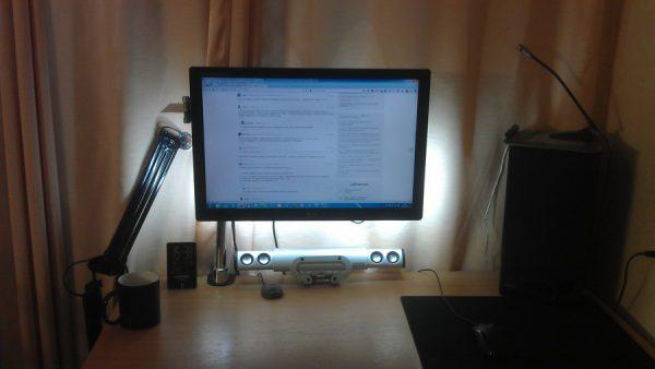 Подсветка монитора компьютера светодиодной лентой