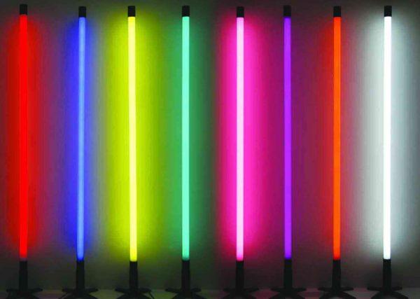 Неоновые лампы разного цвета