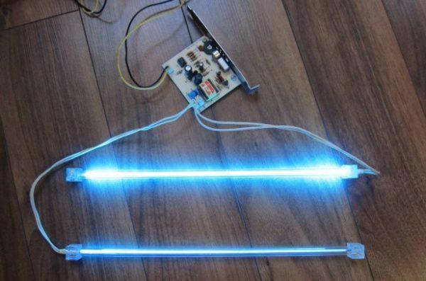 Принцип работы неоновых ламп