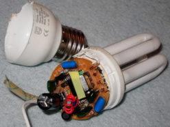 Самостоятельный ремонт лампы