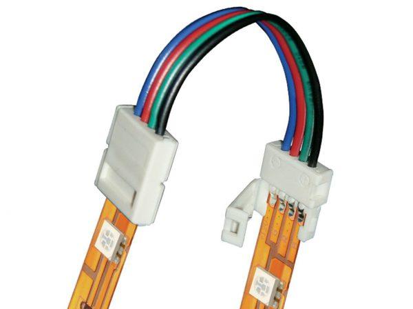 Соединительный коннектор для RGB лент