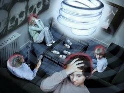 Негативное влияние люминесцентных ламп