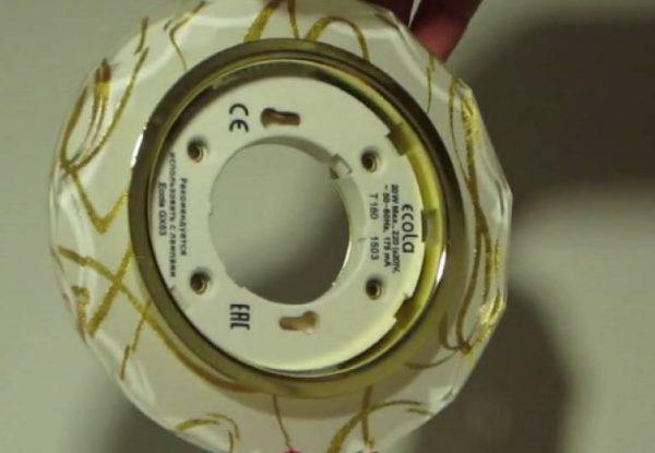 Патрон для ламп с цоколем GX53