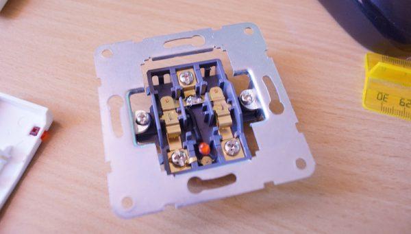 Отключение диода в выключателе с посветкой