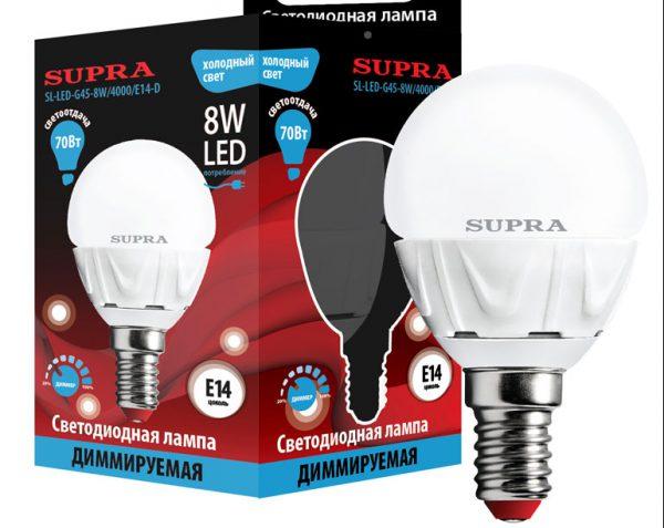 Диммируемая LED-лампа