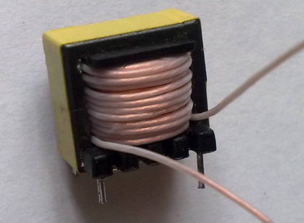 Намотка трансформатора из МГТФ