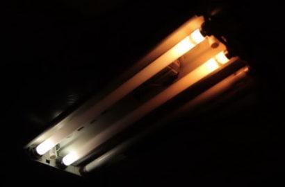 Неисправность ламп дневного света