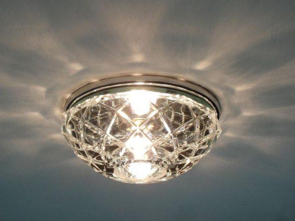 Накладной светильник для натяжного потолка