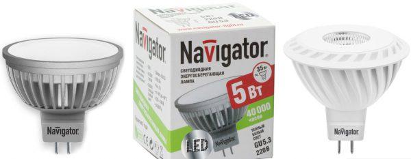 LED-лампы с цоколем GU5.3