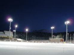 Организация освещения спортивных площадок