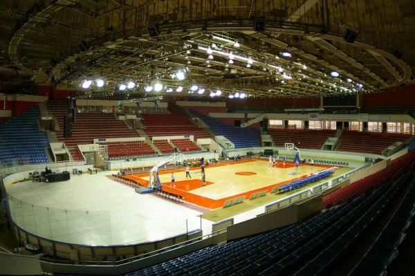 Освещение площадки для турнирных состязаний