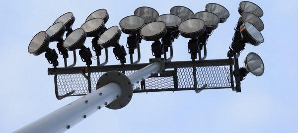 Прожектора для спортивных объектов с оптической защитой