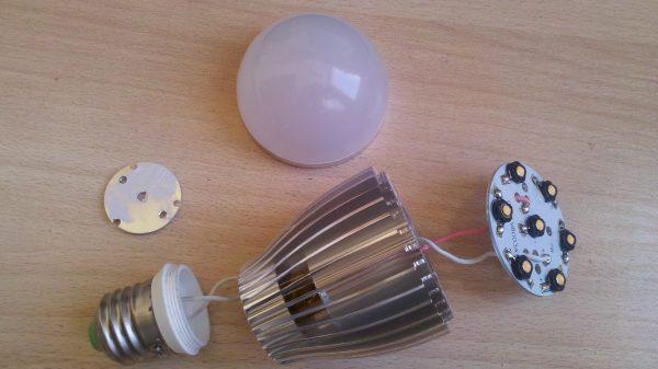 Радиатор светодиодной лампы