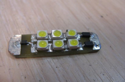 Светодиодная лампа своими руками