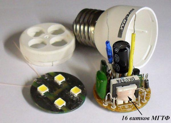 Самостоятельная переделка балласта лампы в ИБП