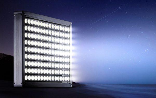 Современный светодиодный прожектор для стадиона