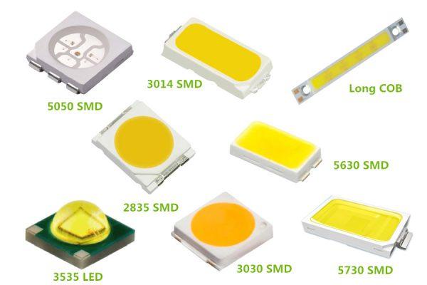 Светодиоды используемые для сборки источников света