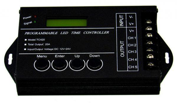 Светодиодный контроллер TC420 для управления освещением аквариума