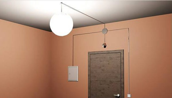 Датчик движения позволяет управлять осветительными приборами