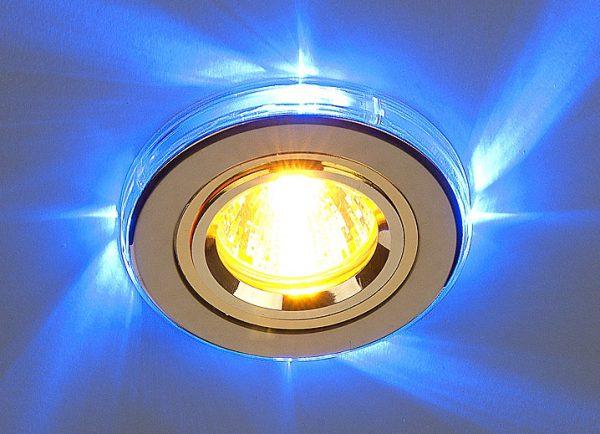 Встраиваемый точечный светильник для натяжных потолков