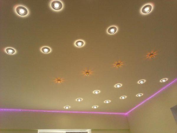 Лампы для натяжных потолков должны обеспечивать высокий уровень пожаробезопасности
