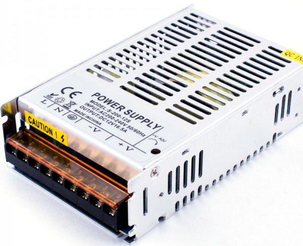 Блок питания для LED-ламп 200 Вт 12 вольт