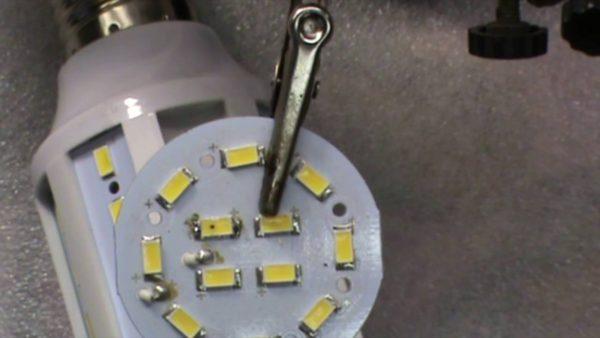 Быстрый ремонт светодиодной лампы