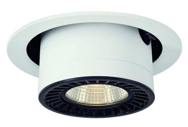 Цилиндрический светильник с поворотным плафоном