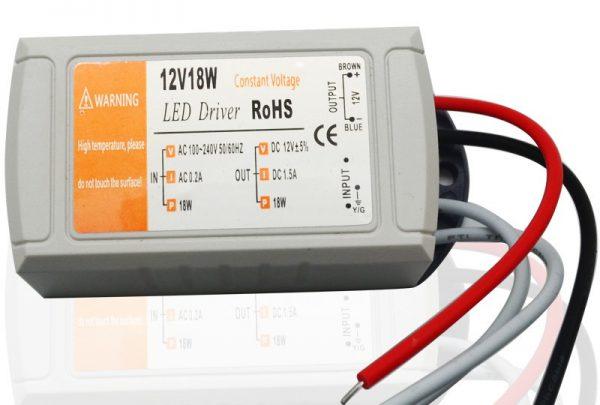 Драйвер для светодиодных ламп на 12 вольт