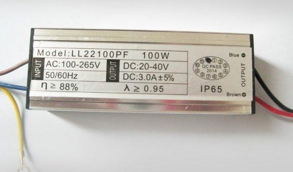 Светодиодный драйвер мощностью 100 ватт