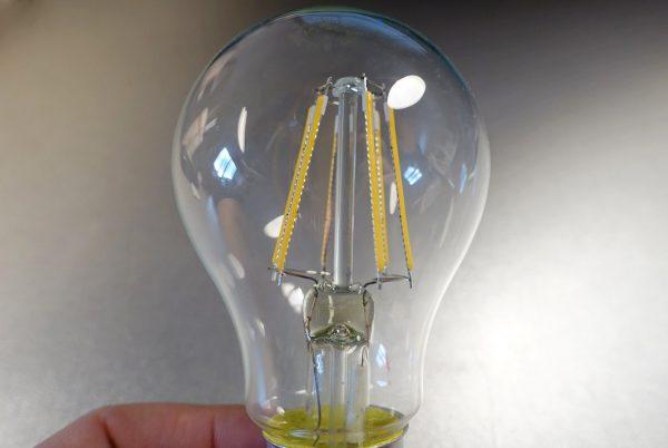 Светодиодные лампы со стеклянной колбой не подлежат ремонту