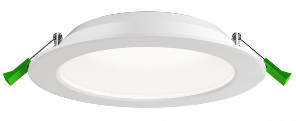Круглый влагозащищенный светильник для ванной комнаты