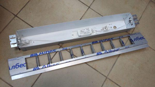 Люминесцентный светильник для реечных потолков