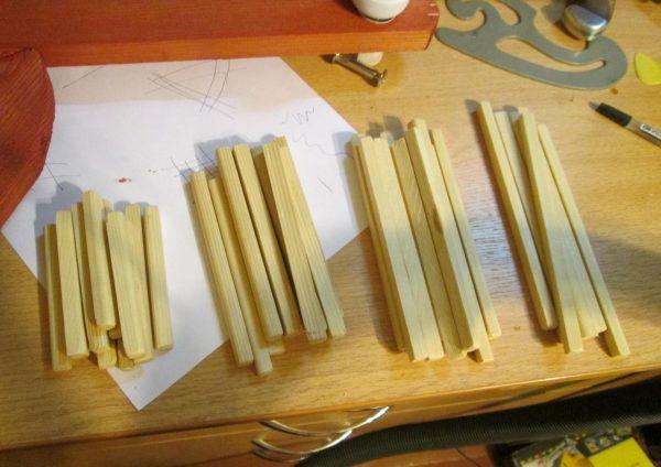 Материалы для люстры в японском стиле