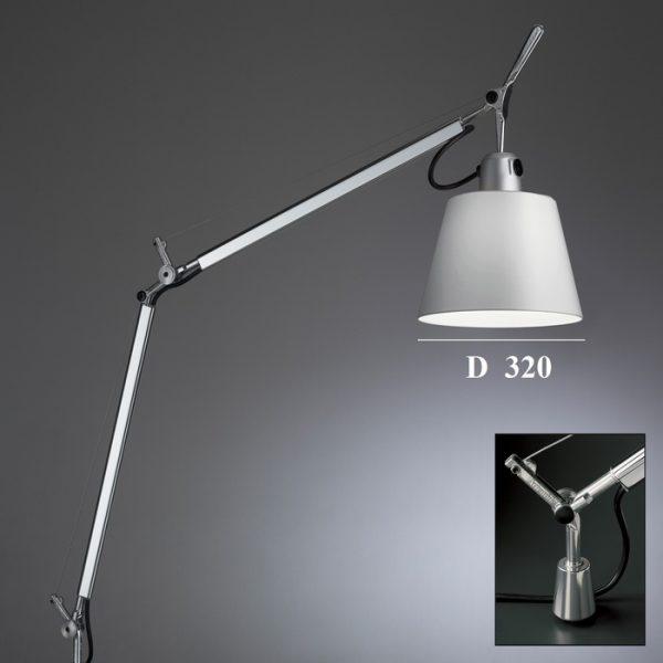 Светильник с абажуром из алюминия