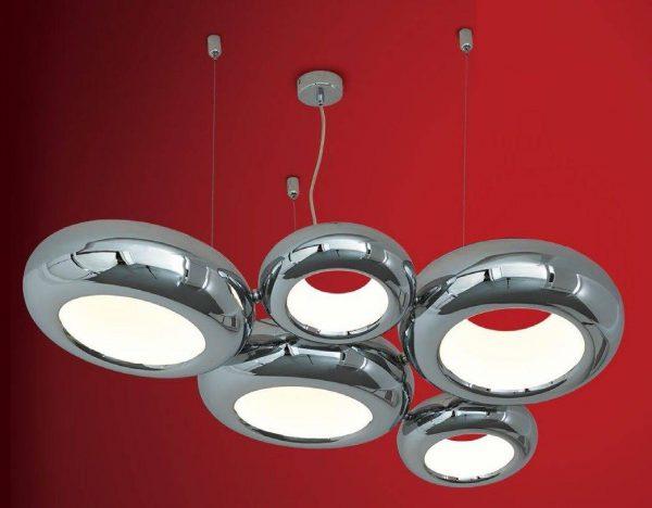 Подвесные светильники для натяжных потолков