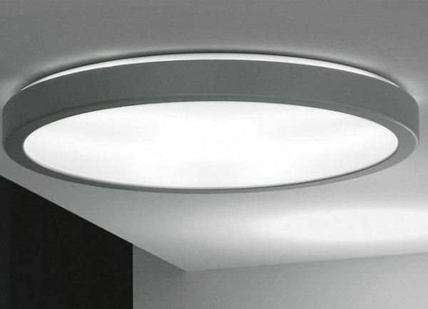 Плоский припотолочный светодиодный светильник