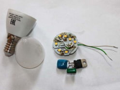 Починка LED-лампы