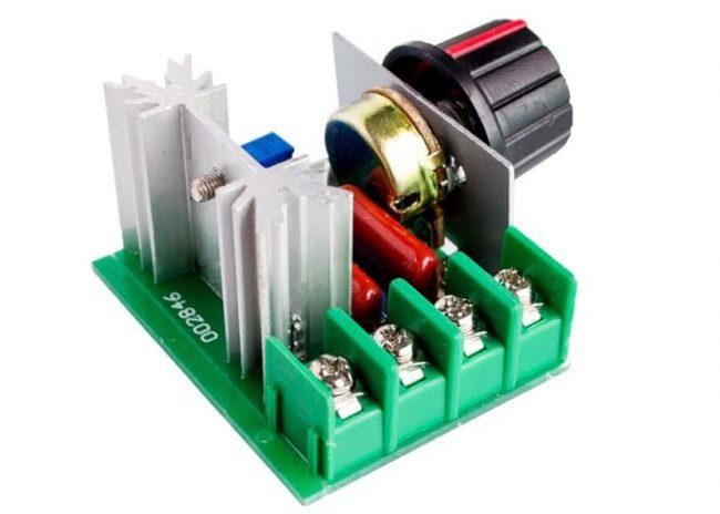Семисторный регулятор на 2 кВт