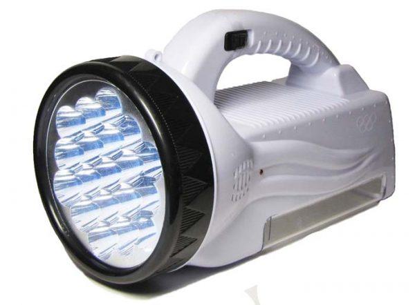 Переносной светодиодный фонарь с аккумулятором