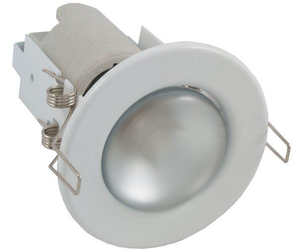 Светильник с зеркальной лампой накаливания для реечного потолка